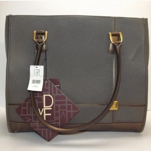 Diane Von Furstenberg Bags   Dvf Laptop Large Tote Purse   Poshmark d832e005e7